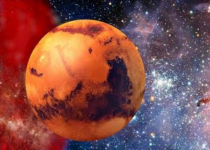 What happened to the atmosphere of Mars